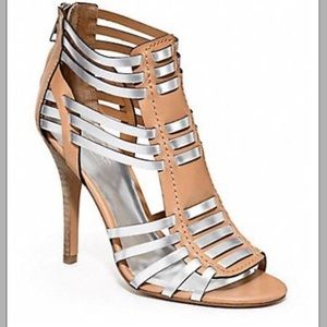 Coach Lucy Two Tone Heels
